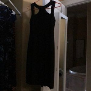 Black dress, size 4,excellent used condition
